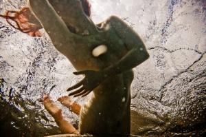 Подводные ню фотографии Нила Крейвера