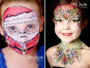 Фантастический детский боди-арт от Кристи Льюис