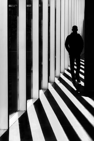 33 фантастических черно-белых уличных фотографий