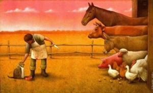 Тонкая сатира и глубокие мысли о нашем обществе в иллюстрациях Павла Кучинского