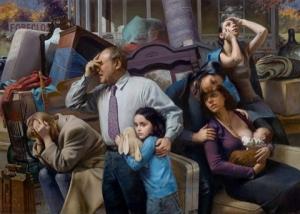 Реалистичные картины Макса Гинзбурга