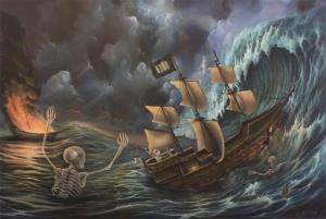 Сюрреалистические картины Грэма Каррана