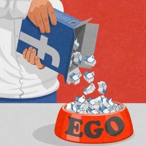 Сатирические иллюстрации в стиле 50-х годов о современных проблемах