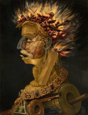 Причудливые иллюзии в картинах 16-го века художника Джузеппе Арчимбольдо