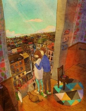 50 картинок о том, что любовь в мелочах