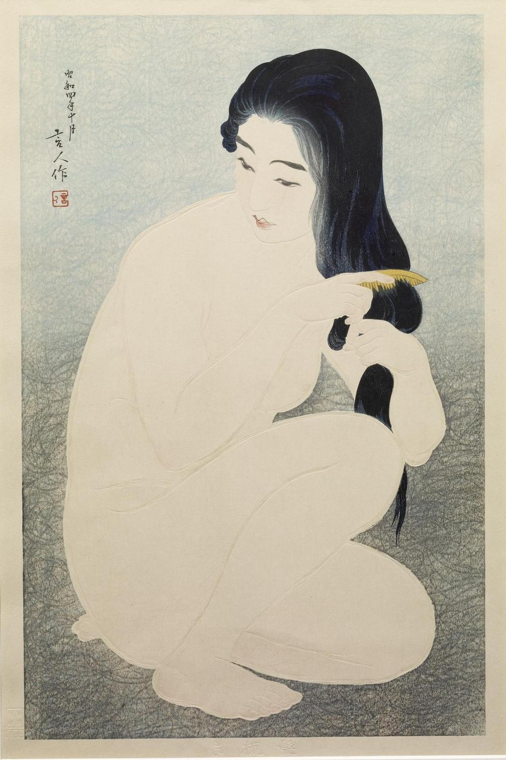 Онлайн-архив с 213 000 прекрасных японских гравюр с 1700-х по 1950-е  9