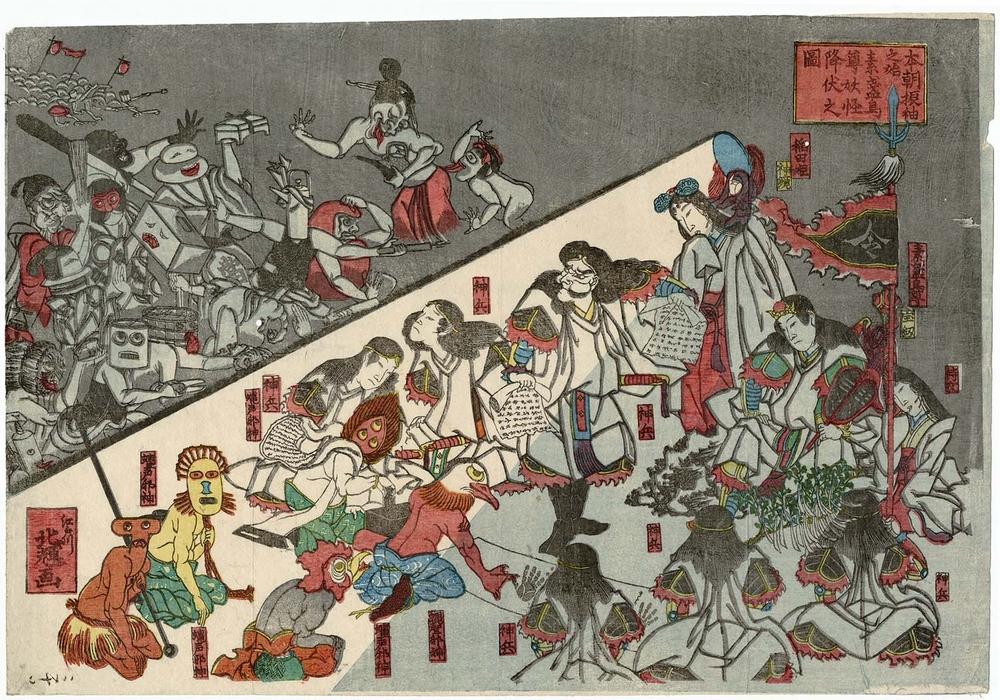 Онлайн-архив японских гравюр 5
