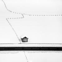 Фотограф Петер Свобода: пленительный минимализм снежного пейзажа
