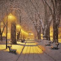 Ришар Савуа: канадская зима в уютной живописи