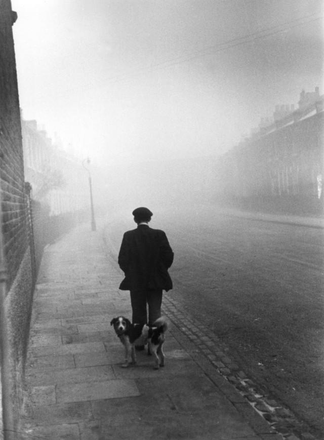 Безработный мужчина. Южный Лондон, 1939. Автор Курт Хаттон