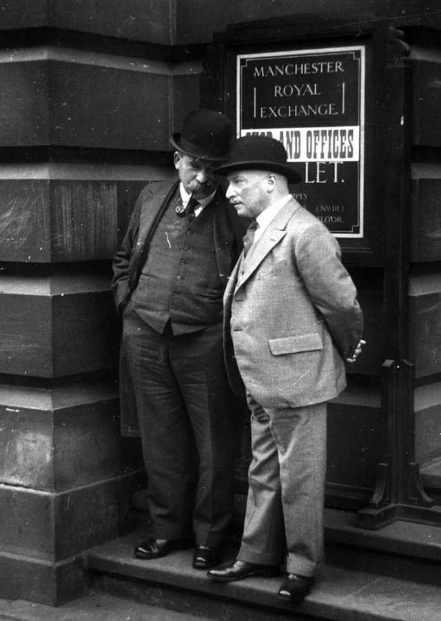 Торговцы на бирже, 1938. Автор Курт Хаттон