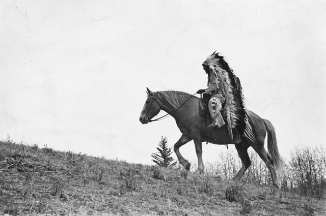 Вождь. Резервация в Канаде, 1939. Автор Курт Хаттон