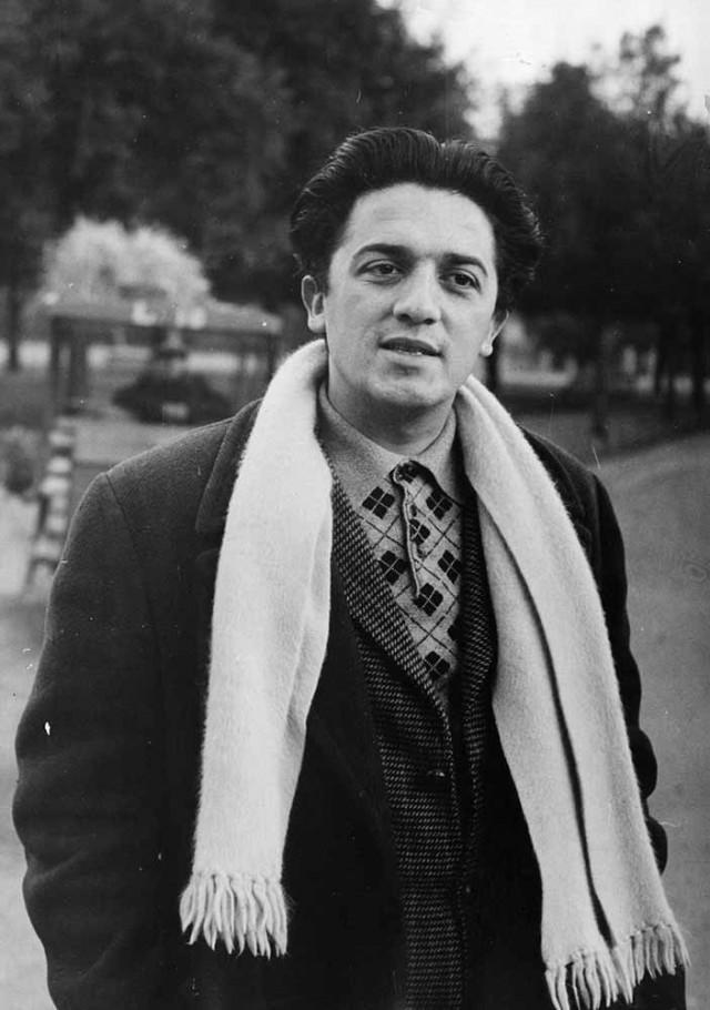 Федерико Феллини, 1948. Автор Курт Хаттон