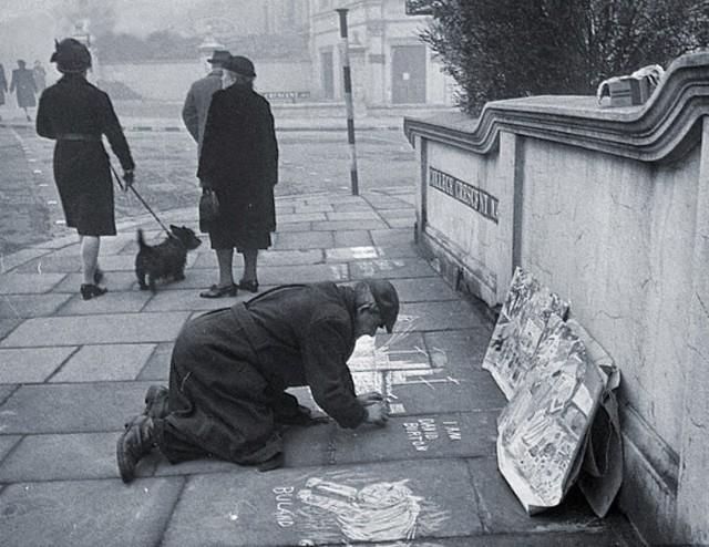 Уличный художник. Автор Курт Хаттон