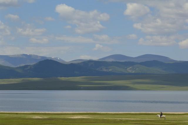 «Одинокий всадник». Монголия, 2007. Фотограф Марк Прогин