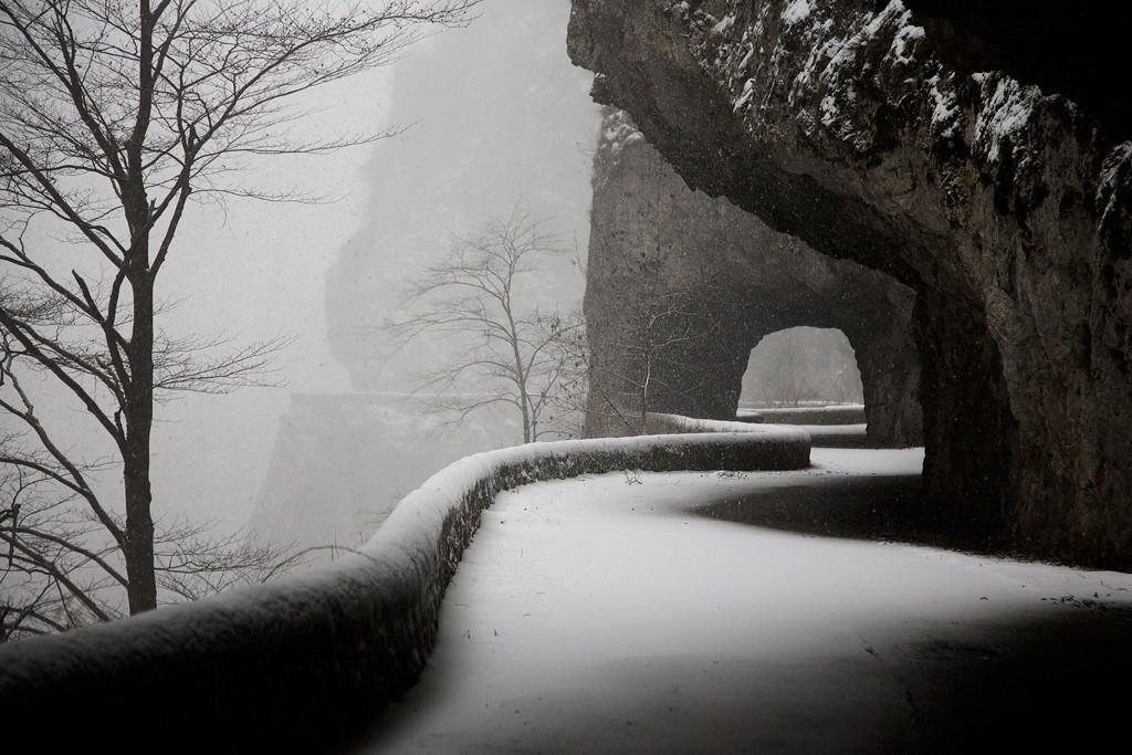 Тоннель, Веркор, Франция, 2019. Автор Кристоф Жакро