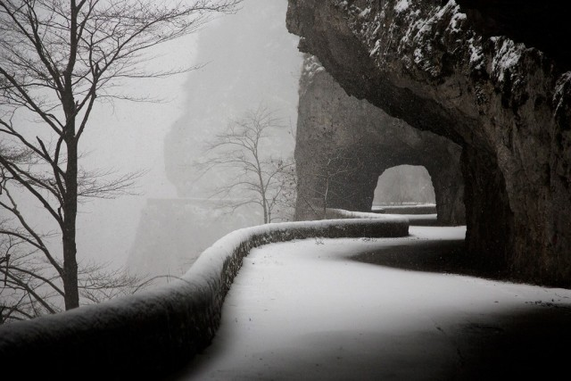 Tunnel, Vercors, France, 2019. Author Christoph Jacques