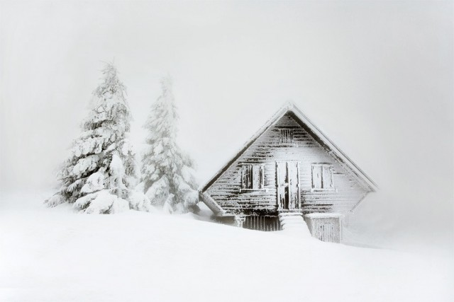 Chalet, Vercors, France, 2017. Posted by Christophe Jacques