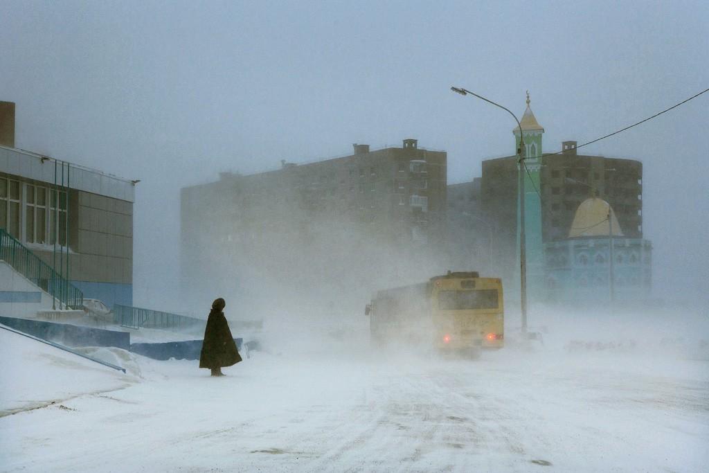 Автобус, Норильск, 2017. Автор Кристоф Жакро