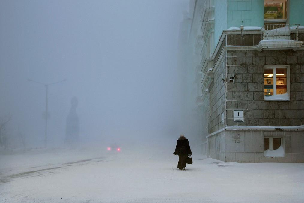 Ленинский проспект, Норильск, 2017. Автор Кристоф Жакро