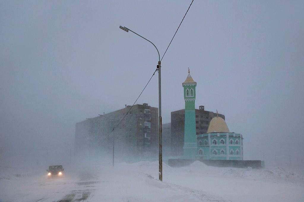 Нурд-Камал, самая северная мечеть, Норильск. Автор Кристоф Жакро