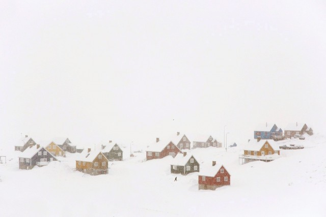 Village, Greenland, 2018. Author Christoph Jacques