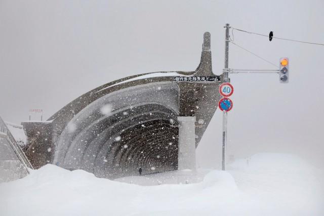 Остановка, Хоккайдо, Япония, 2018. Автор Кристоф Жакро