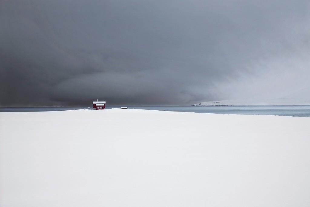 Красный дом, Исландия, 2016. Автор Кристоф Жакро