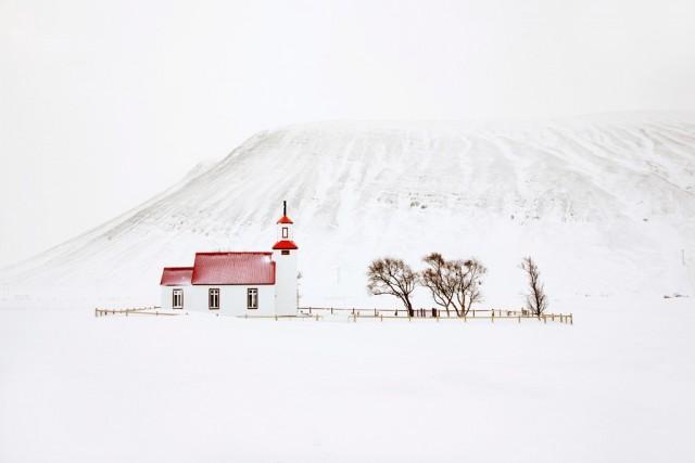 Часовня, Исландия, 2016. Автор Кристоф Жакро