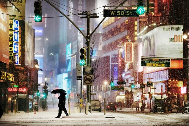 Таймс-сквер, Нью-Йорк. Автор Кристоф Жакро