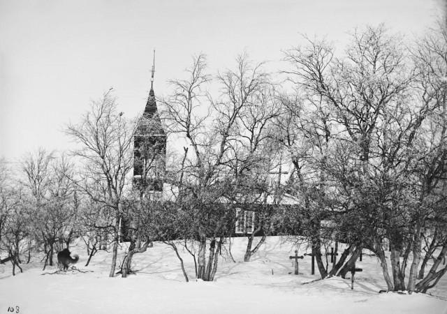 Церковь. Автор Софус Тромгольт