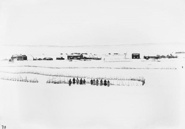 Вид в Кёутукейну, Норвегия, 1882-1883. Автор Софус Тромгольт