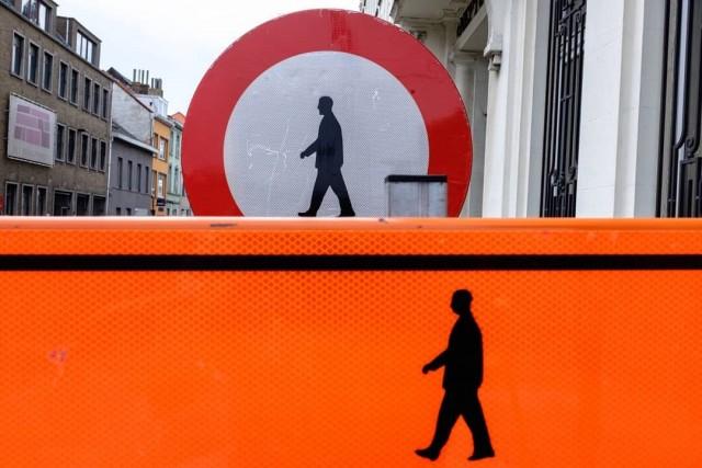 Знаки. Гент, Бельгия. Автор Джеффри Де Кейзер