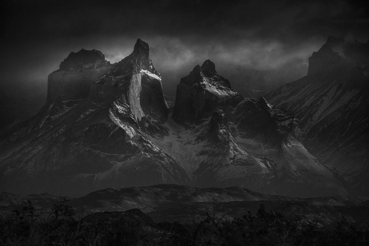 Башни Патагонии. Торрес-дель-Пайне, Чили. Автор Петер Свобода