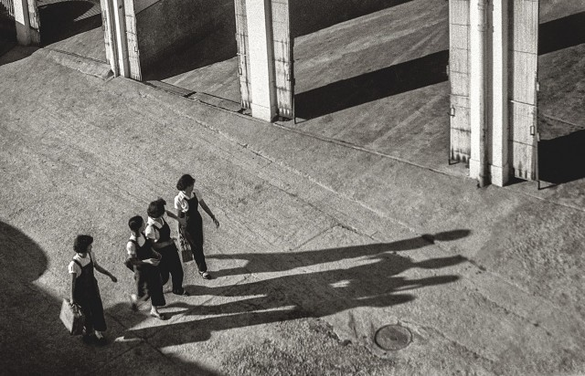 Вчетвером, Гонконг, 1950-60-е. Автор Фан Хо