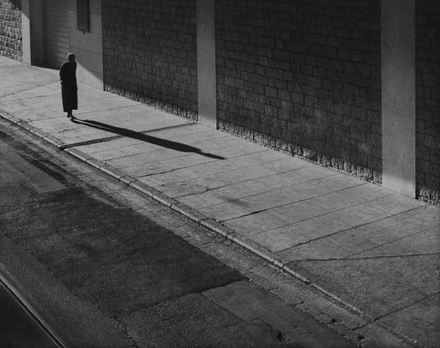 Одинокая прогулка, 1958. Автор Фан Хо