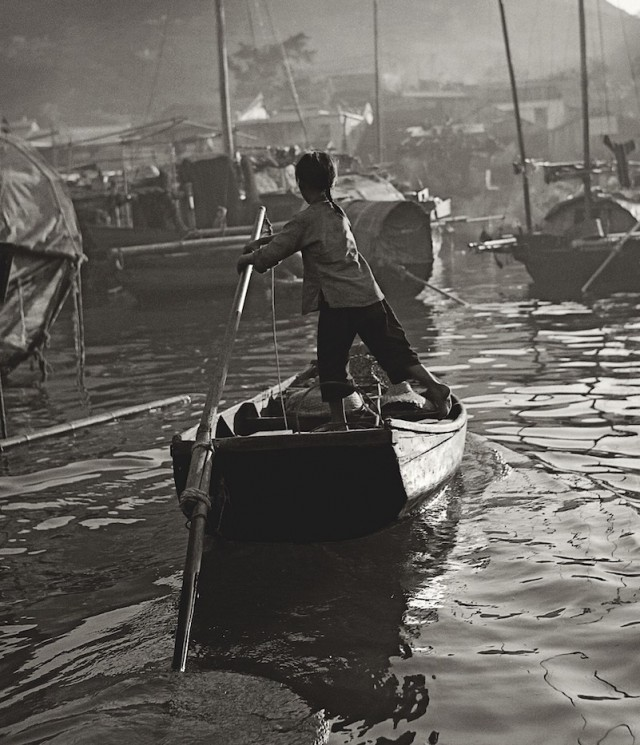 Управляющий лодкой, Гонконг, 1950-60-е. Автор Фан Хо