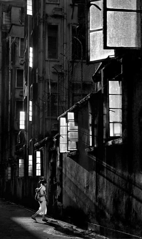 Белые окна, Гонконг, 1962. Автор Фан Хо