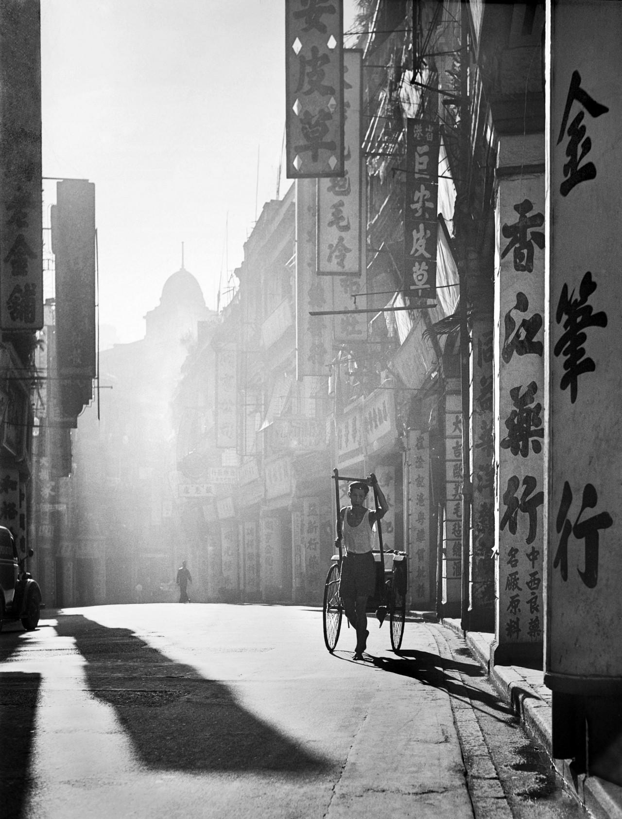 Рикша. Автор Фан Хо