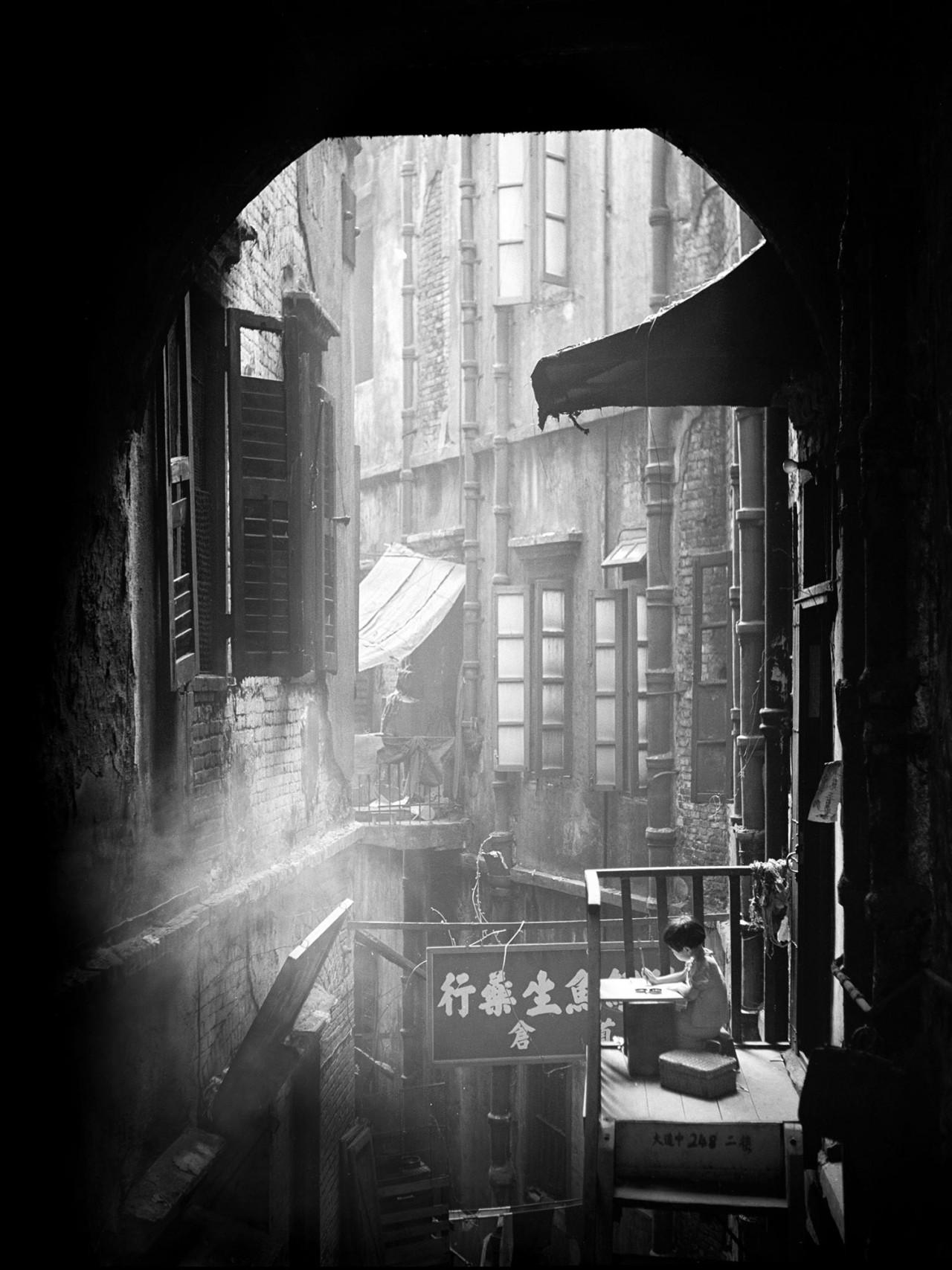 Учёба, Гонконг, 1950-60-е. Автор Фан Хо