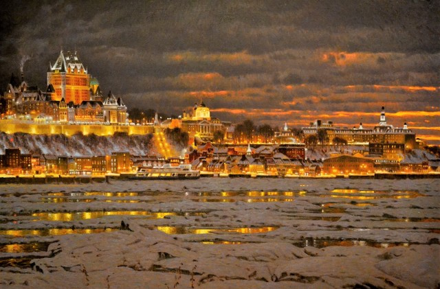 Вид Квебека. Автор Ришар Савуа