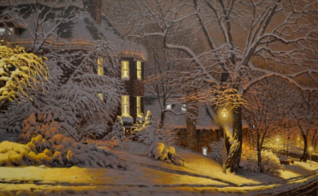 Ночные фонари. Автор Ришар Савуа