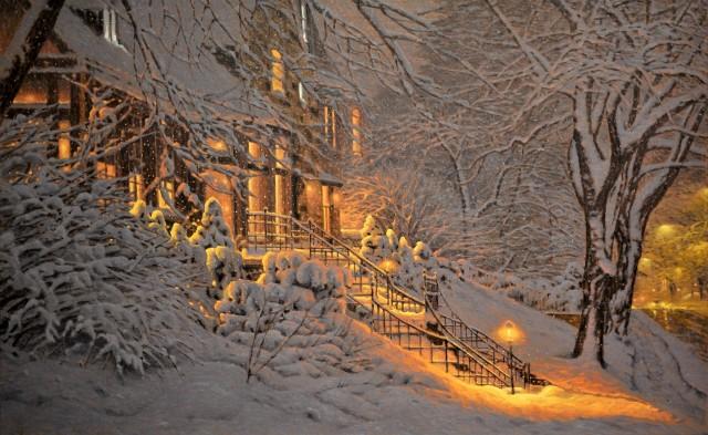 Снег в Уэстмаунте. Автор Ришар Савуа