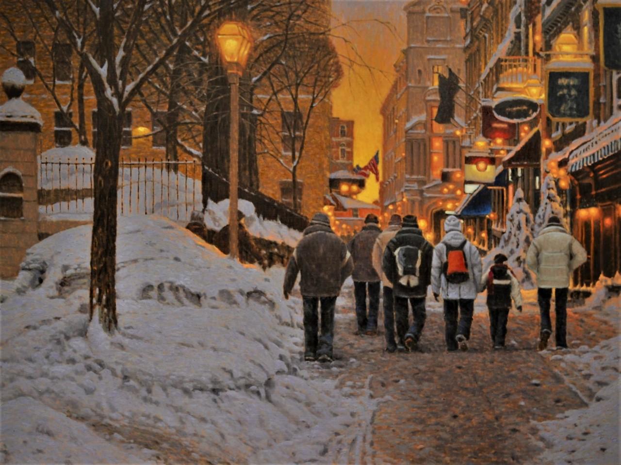 Улица Сент-Анн, Старый Квебек. Автор Ришар Савуа