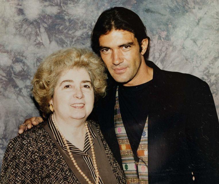 Антонио Бандерас и Мария Снойс-Лаглер