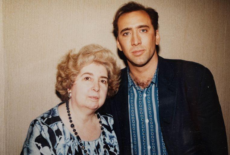 Николас Кейдж и Мария Снойс-Лаглер
