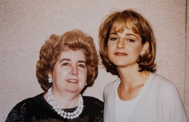 Хелен Хант и Мария Снойс-Лаглер