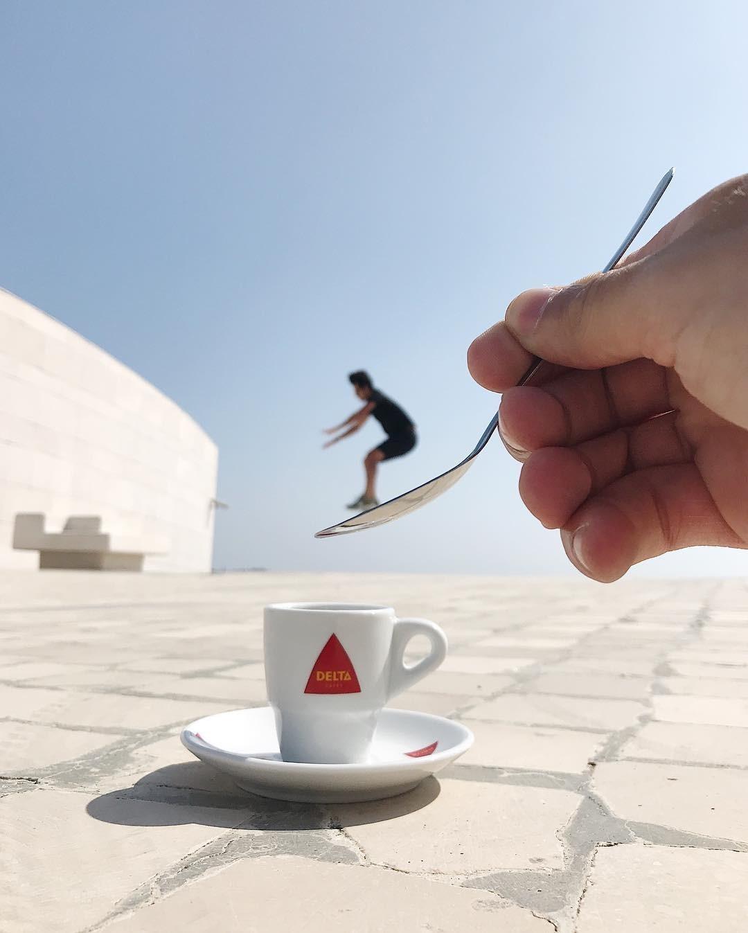 «Кофе объединяет людей». Автор Тиаго Силва