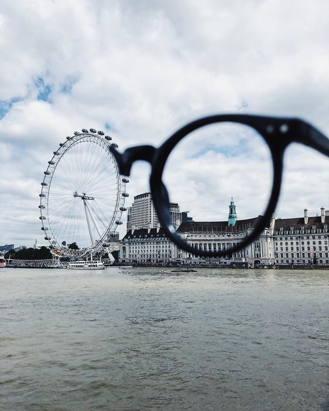 «Лондонские глаза». Колесо обозрения, Лондон. Автор Тиаго Силва