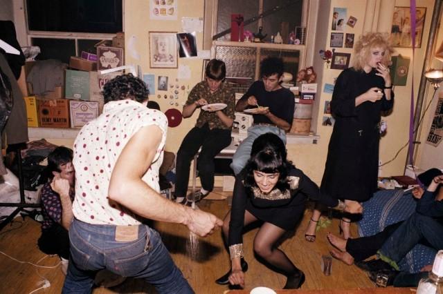 Вечеринка, 1986. Автор Нан Голдин